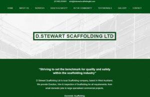 D Stewart Scaffolding